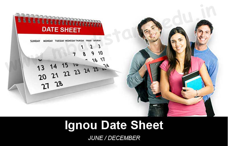 Ignou Date Sheet Download