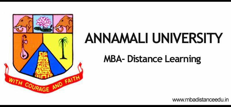 annamalai university distance mba