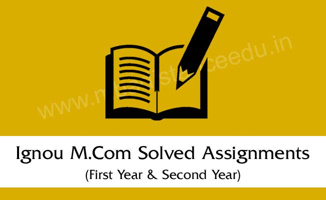 ignou solved assignment A blog on ignou solved assignments for bca and mca.