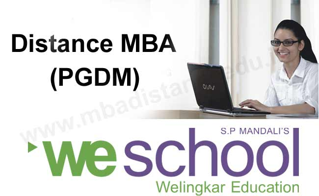 Apply for admission to Welingkar Distance learning MBA