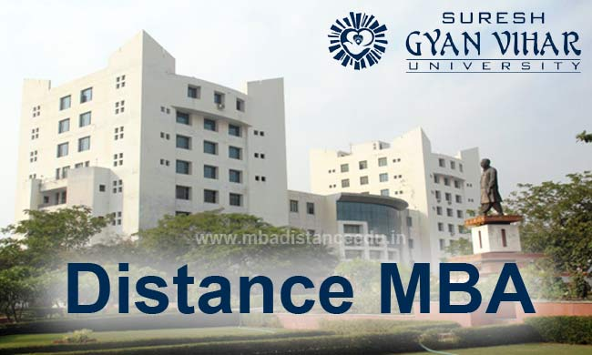 Suresh Gyan Vihar University Distance MBA Learning